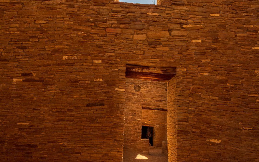 Sunrays Through Pueblo Bonito