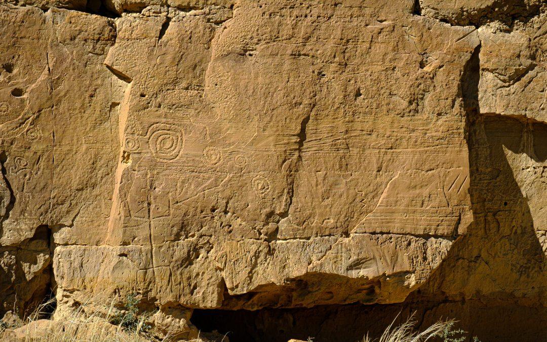Chaco Petroglyphs